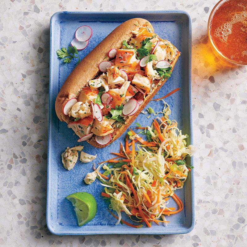 Foto av Thailändska lobster rolls med cole slaw från WW ViktVäktarna