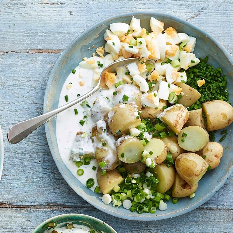 Foto av Potatissallad med ägg från WW ViktVäktarna