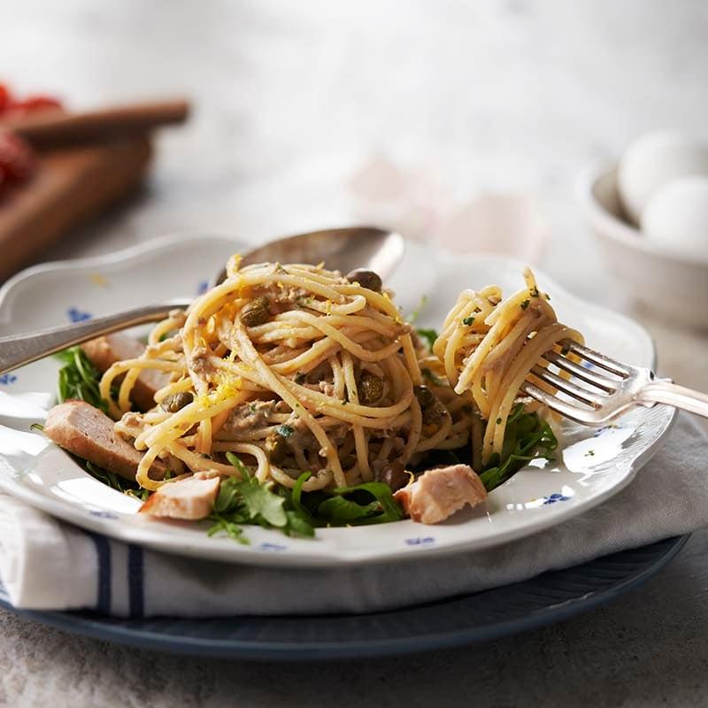 Foto av Pollo tonnato med spaghetti från WW ViktVäktarna