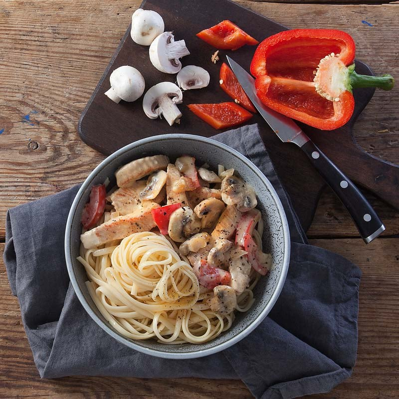 Foto av Fläderblomskalkon med pasta från WW ViktVäktarna