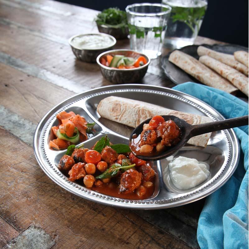Foto av Indisk vegogryta med syrlig sallad från WW ViktVäktarna