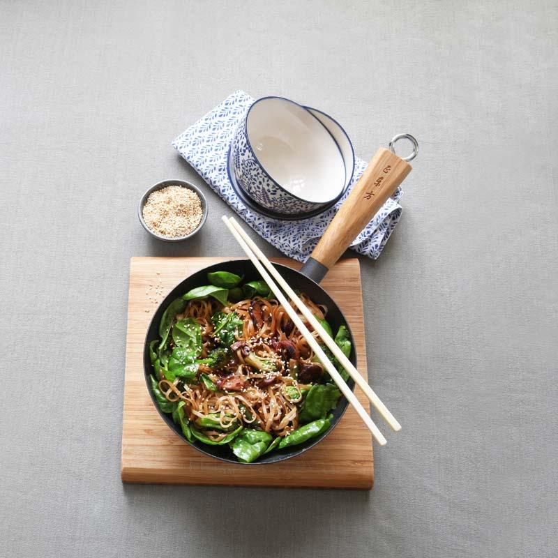Foto av Japchae (koreansk grönsakswok) från WW ViktVäktarna