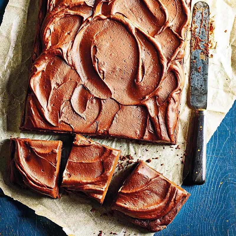 Foto av Chokladkaka med sötpotatisfrosting från WW ViktVäktarna