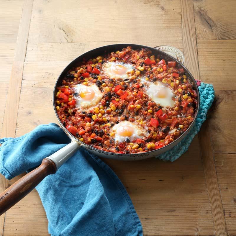 Foto av Bön- och linschili med ägg från WW ViktVäktarna