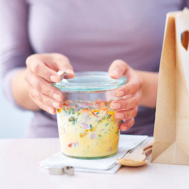 Foto av Ägg i glas to go från WW ViktVäktarna
