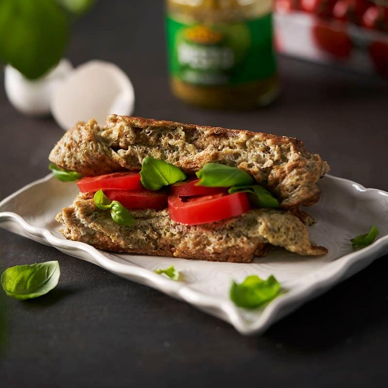 Foto av Macka med pestostekt omelett från WW ViktVäktarna