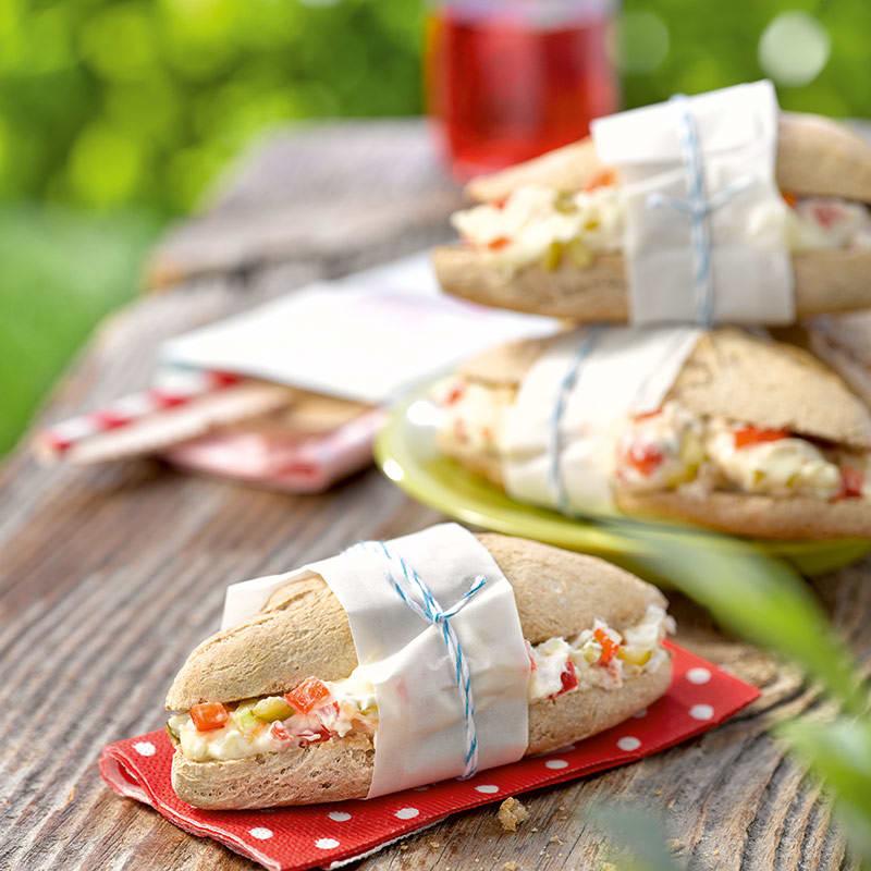Foto av Baguetter med brie och paprika från WW ViktVäktarna