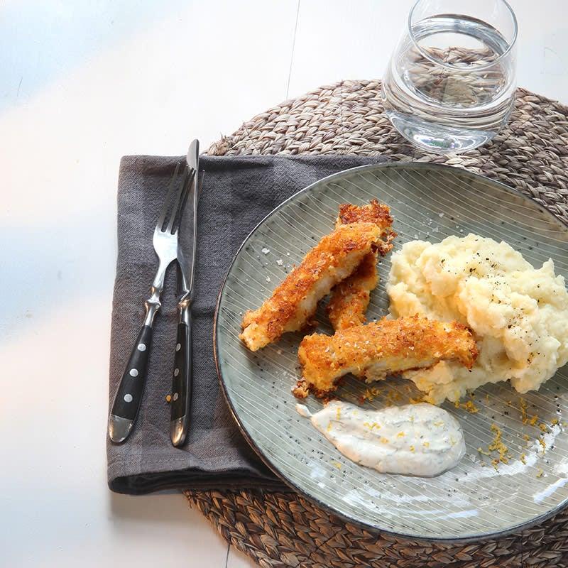 Foto av Fiskpinnar med panko och parmesan från WW ViktVäktarna