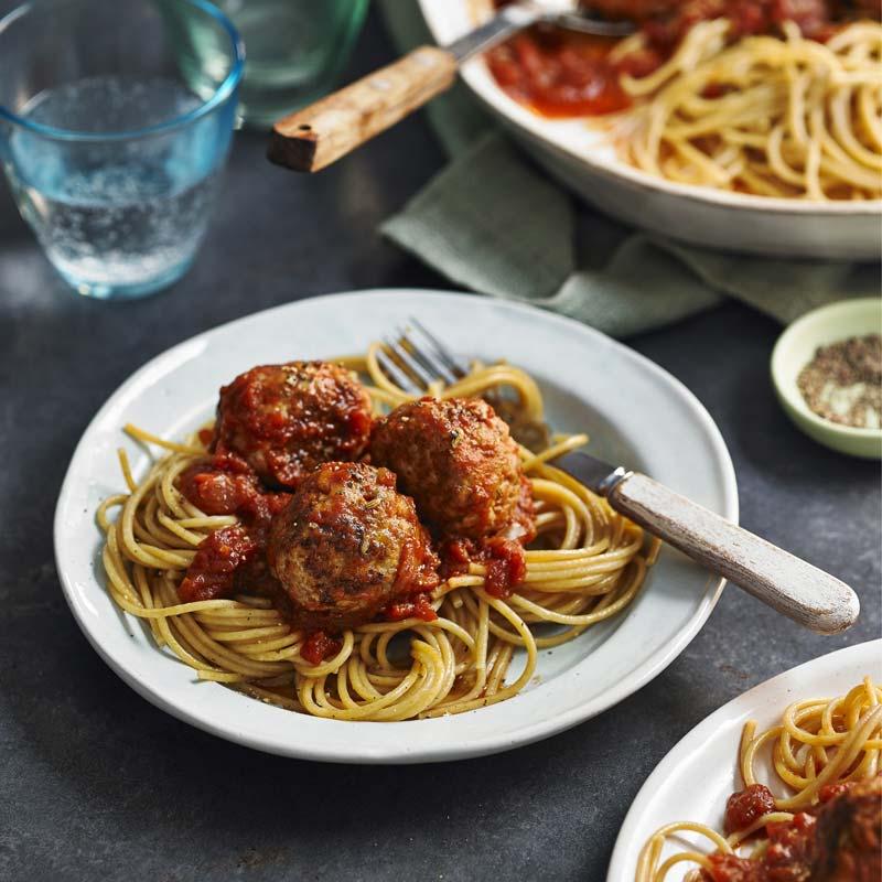 Foto av Köttbullar med fänkål och pasta från WW ViktVäktarna