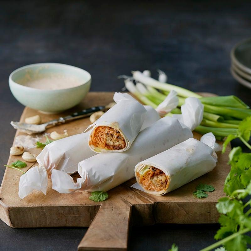 Foto av Koreanska burritos med tempeh från WW ViktVäktarna