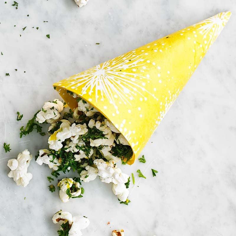 Foto av Popcorn med grönkål och citron från WW ViktVäktarna