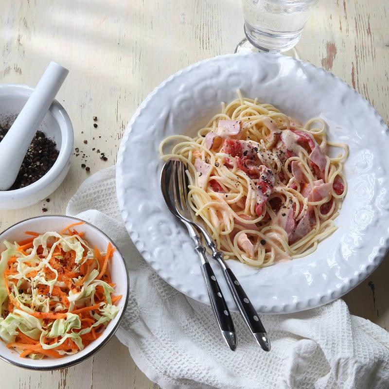 Foto av Pasta med skink- och paprikasås från WW ViktVäktarna