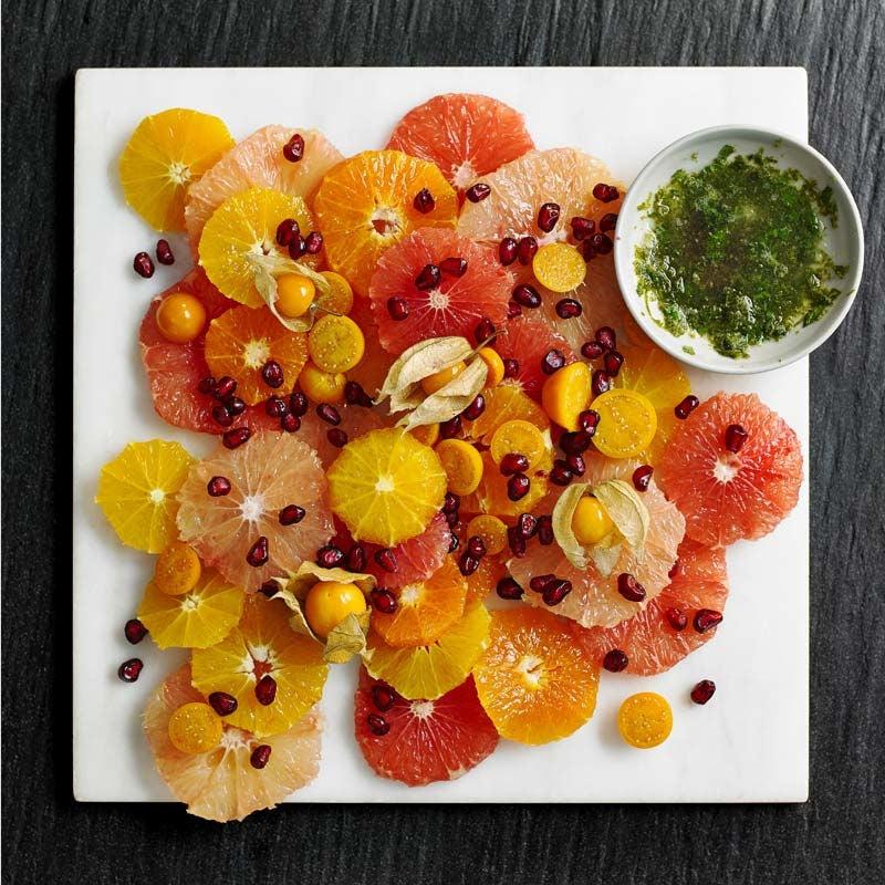 Foto av Vacker citrussallad med lime och mynta från WW ViktVäktarna