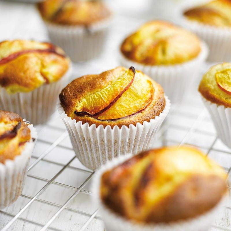Foto av Muffins med persika och banan från WW ViktVäktarna