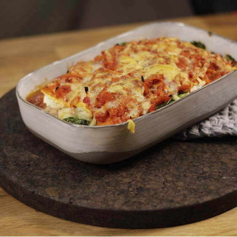 Foto av Lasagne med morot och cottage cheese från WW ViktVäktarna