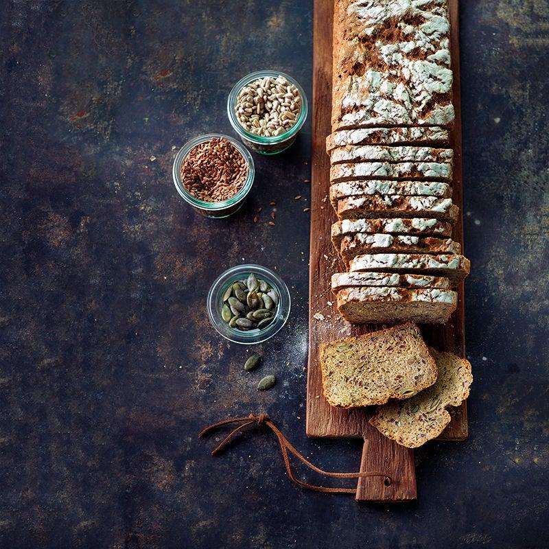 Foto av Rågsurdegsbröd med frön från WW ViktVäktarna