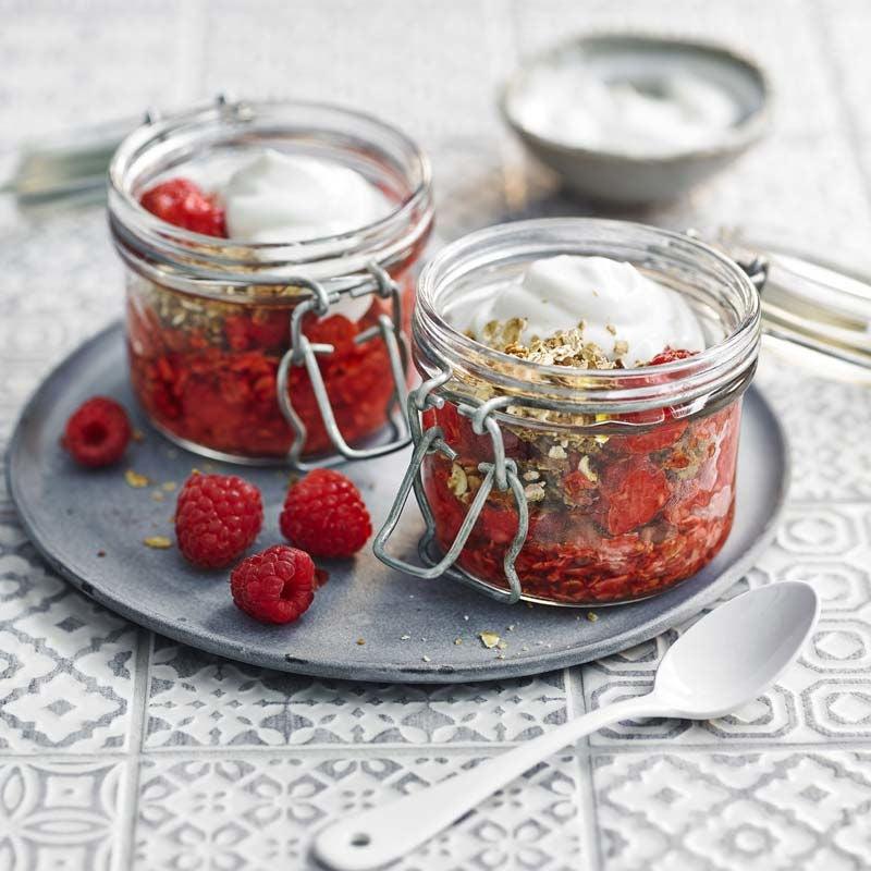 Foto av Sirapshallon med turkisk yoghurt och granola från WW ViktVäktarna