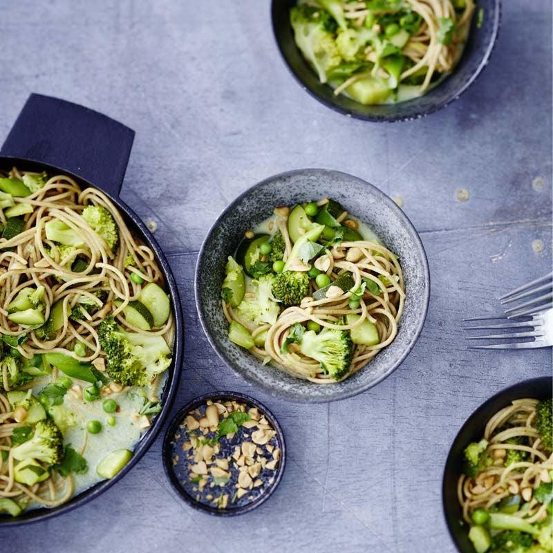 Foto av Grön one-pot-pasta från WW ViktVäktarna