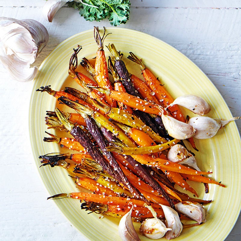 Foto av Honungsrostade morötter med timjan och vitlök från WW ViktVäktarna
