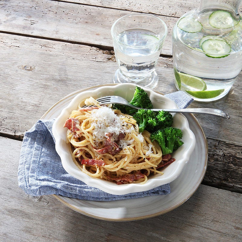 Foto av Pasta carbonara med kalkonbacon från WW ViktVäktarna
