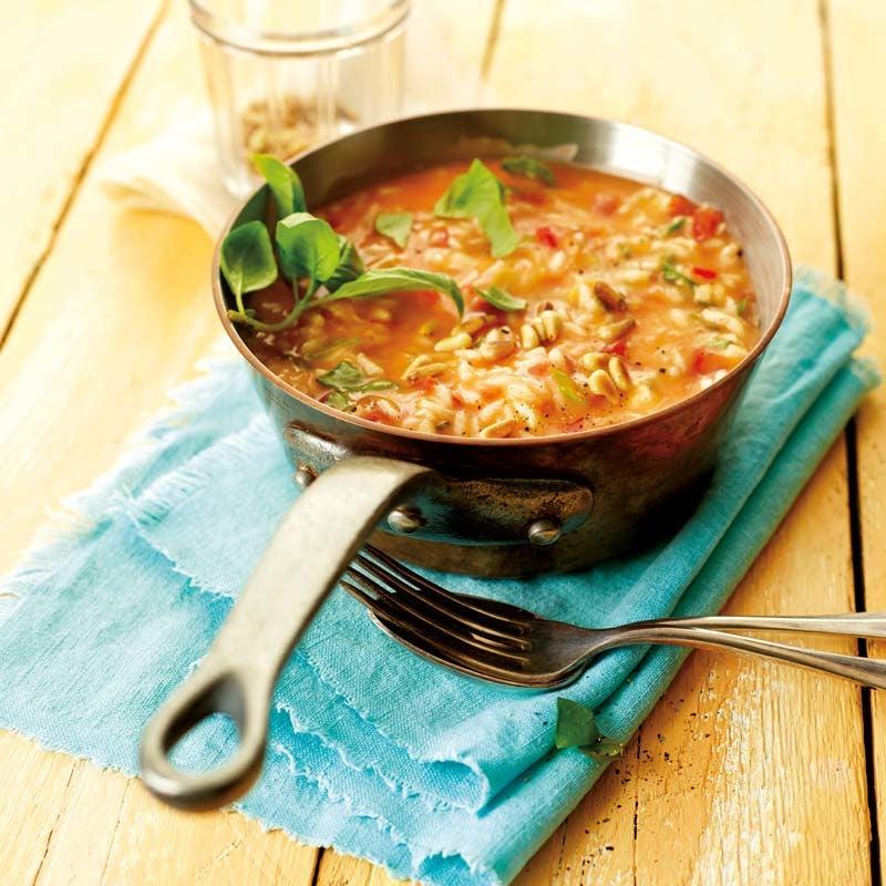 Foto av Tomat- och mozzarellarisotto från WW ViktVäktarna