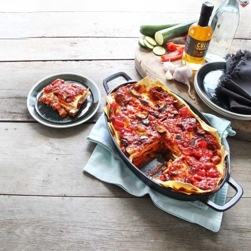 Foto av Lasagne med ratatouille och salladsost från WW ViktVäktarna