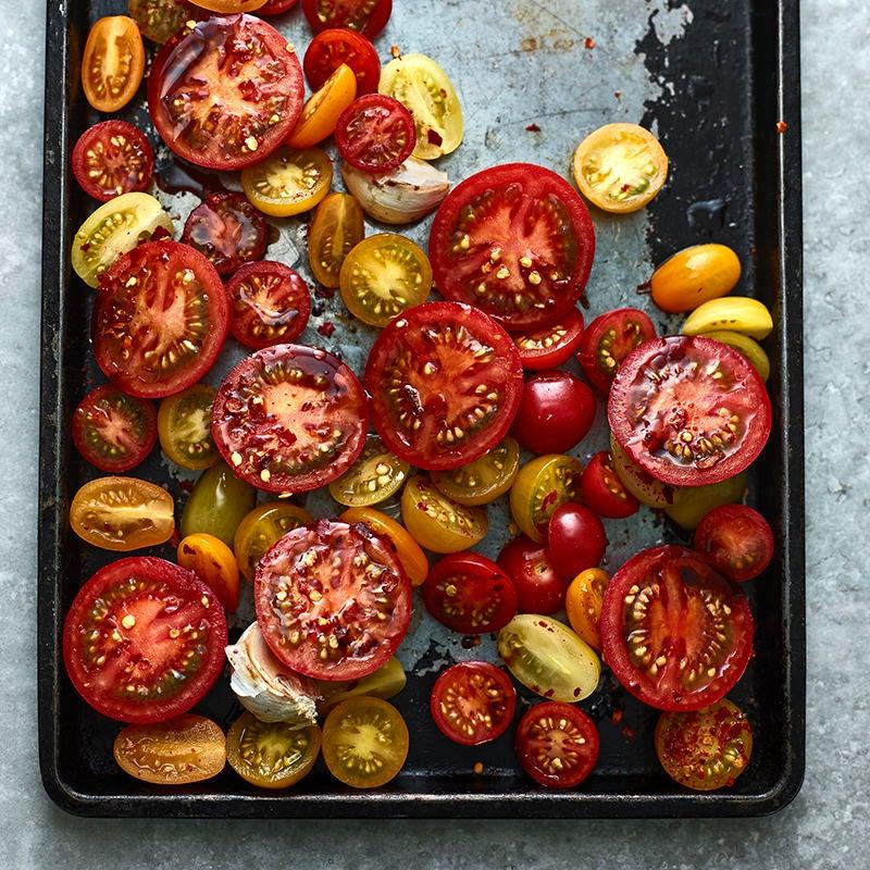 Foto av Semitorkade tomater från WW ViktVäktarna