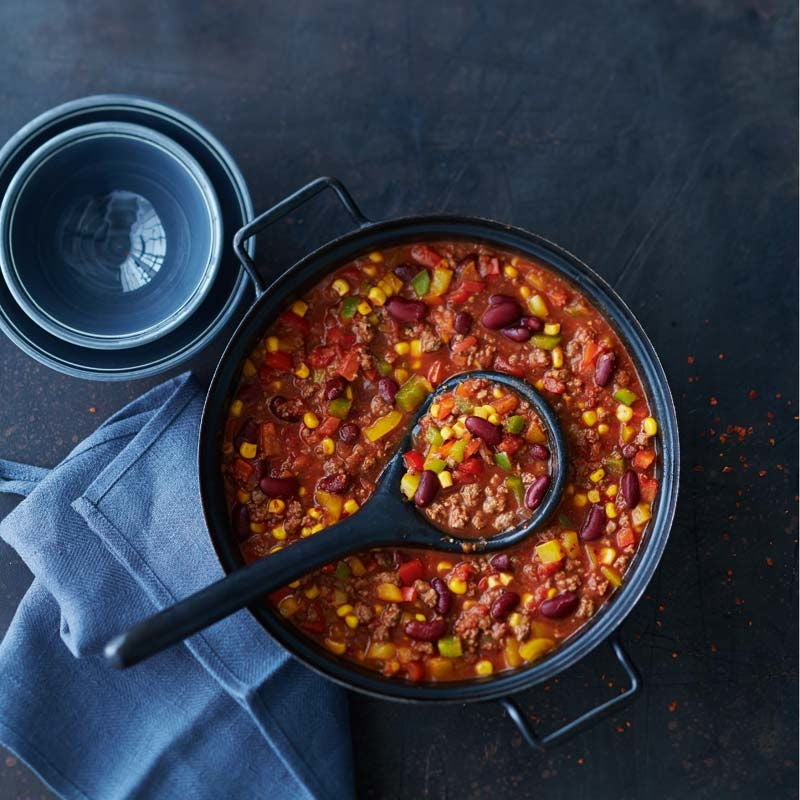 Foto av Chili con carne med bönor och majs från WW ViktVäktarna