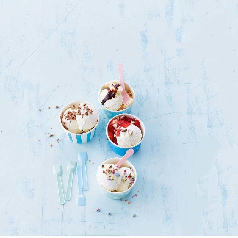 Foto av Frozen yoghurt med toppings från WW ViktVäktarna