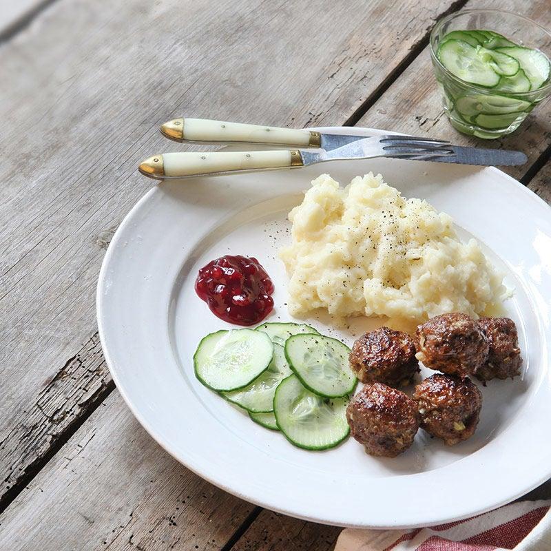 Foto av Köttbullar med potatismos från WW ViktVäktarna