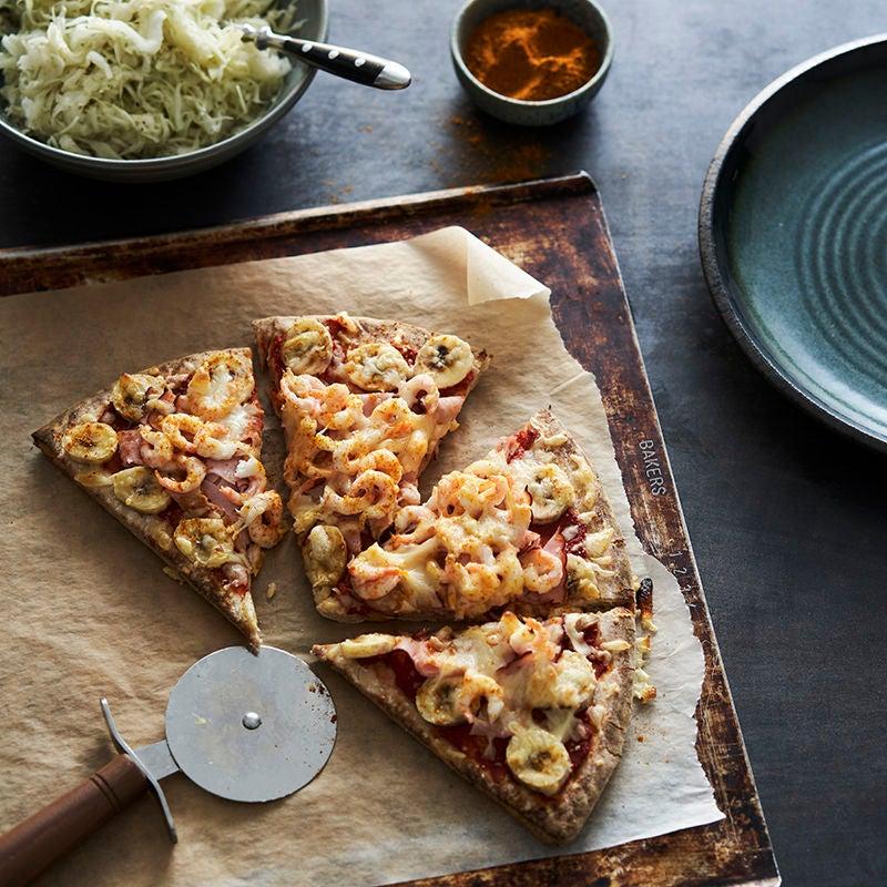 Foto av Pizzamacka med skinka och räkor från WW ViktVäktarna