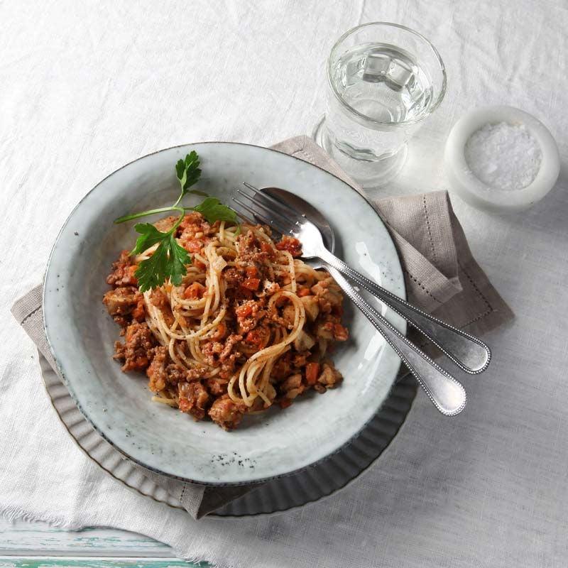 Foto av Spaghetti med färs- och linsbolognese från WW ViktVäktarna