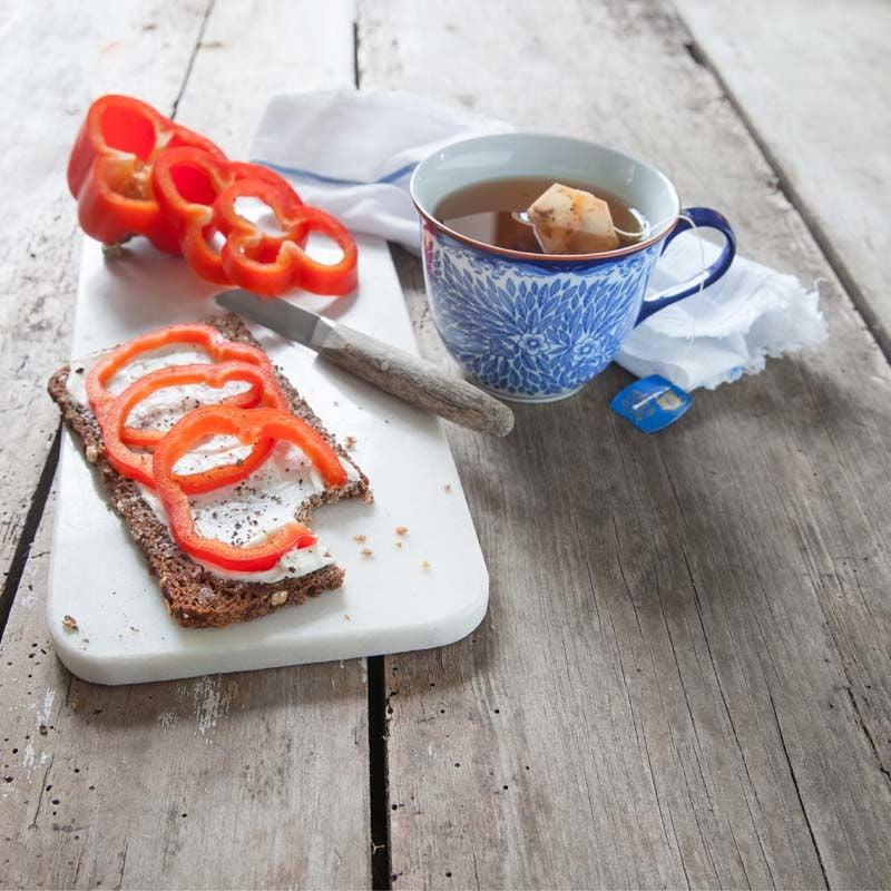 Foto av Rågmacka med färskost och paprika från WW ViktVäktarna