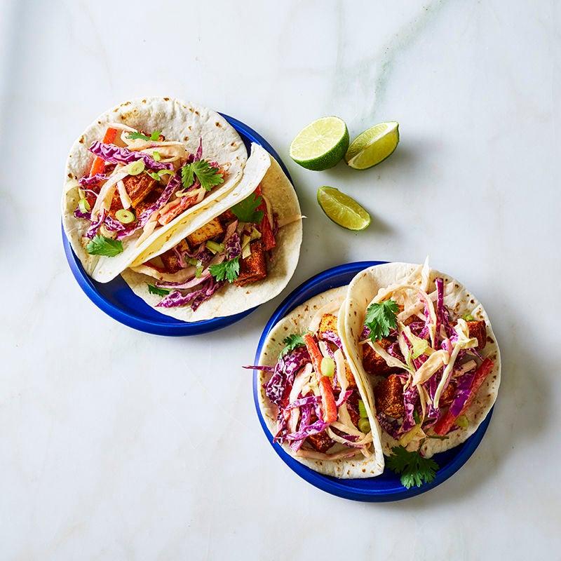 Foto av Krispiga tofutacos med coleslaw från WW ViktVäktarna