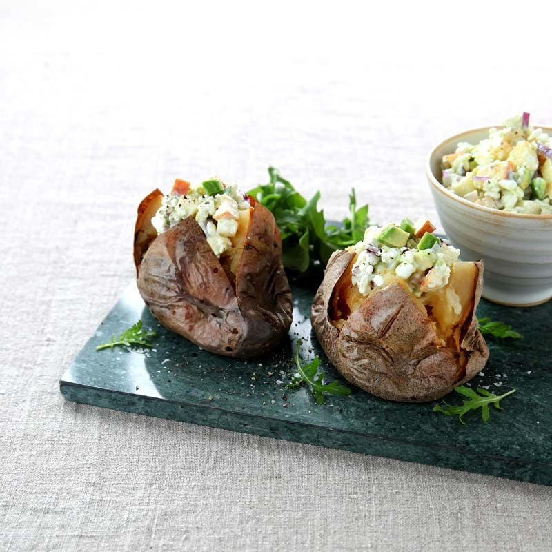Foto av Bakad potatis med avokadoröra från WW ViktVäktarna