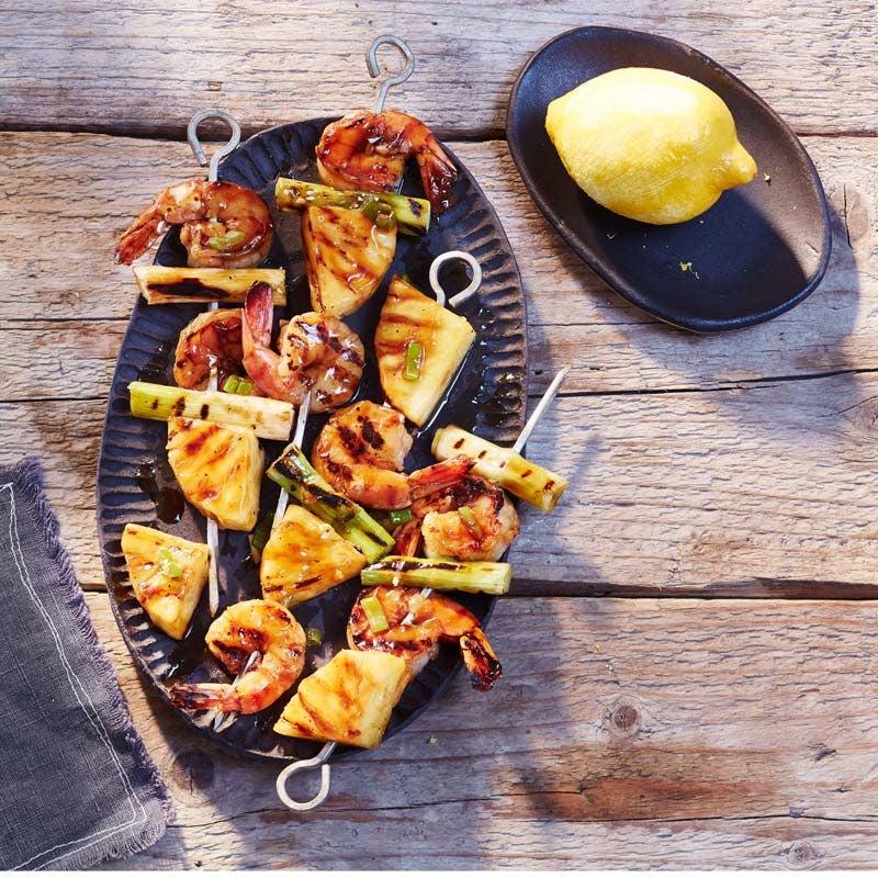 Foto av Räkspett teriyaki med ananas från WW ViktVäktarna