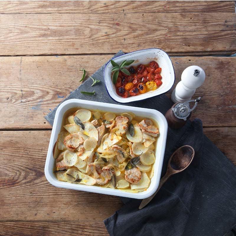 Foto av Salviakryddad fläskytterfilé med potatis och kålrot från WW ViktVäktarna