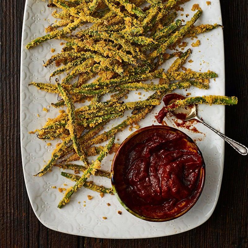 Foto av Krispiga haricots verts med chilisås från WW ViktVäktarna