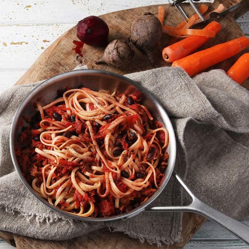 Foto av Pasta med köttfärs- och rotfruktssås från WW ViktVäktarna