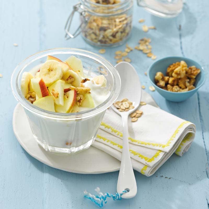 Foto av Yoghurt med müsli och äpple från WW ViktVäktarna