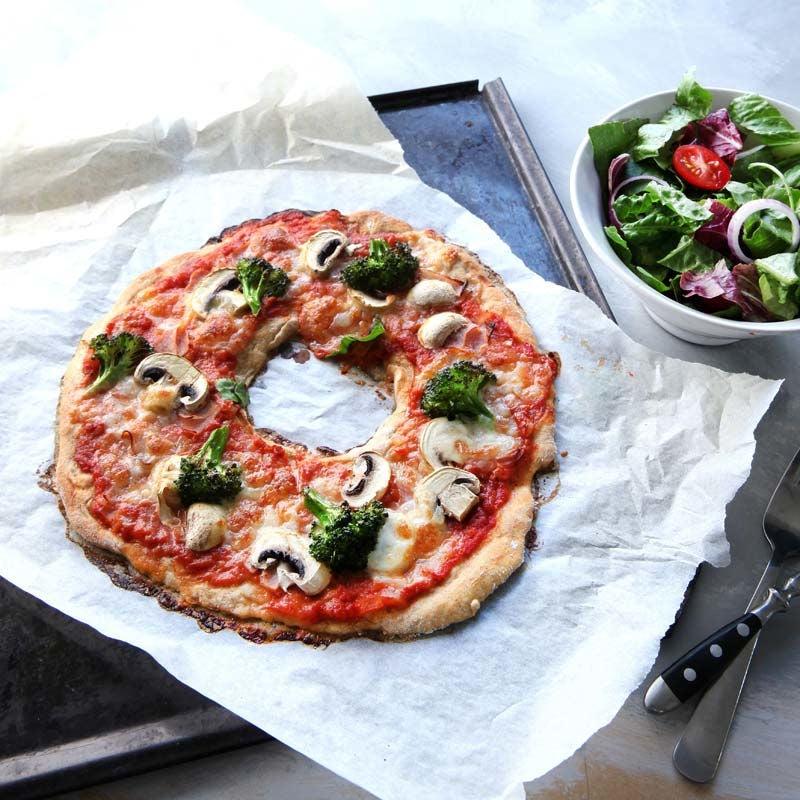 Foto av Pizza med hål i mitten från WW ViktVäktarna