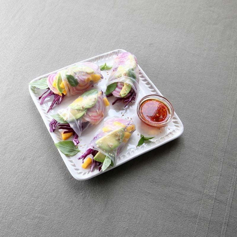 Foto av Färska vårrullar med rödkål och avokado från WW ViktVäktarna