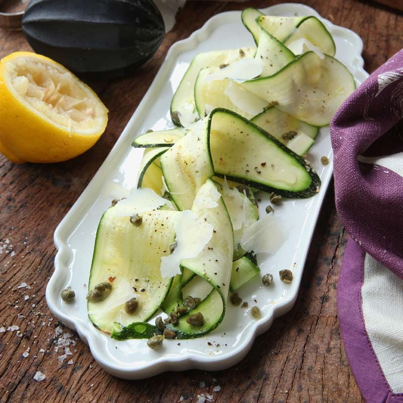 Foto av Zucchini med parmesan och kapris från WW ViktVäktarna
