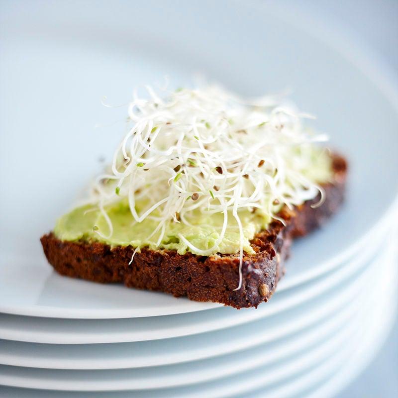 Foto av Rågbröd med avokado och krasse från WW ViktVäktarna