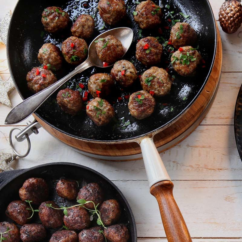 Foto av Kalkonbullar med ingefära och chili från WW ViktVäktarna