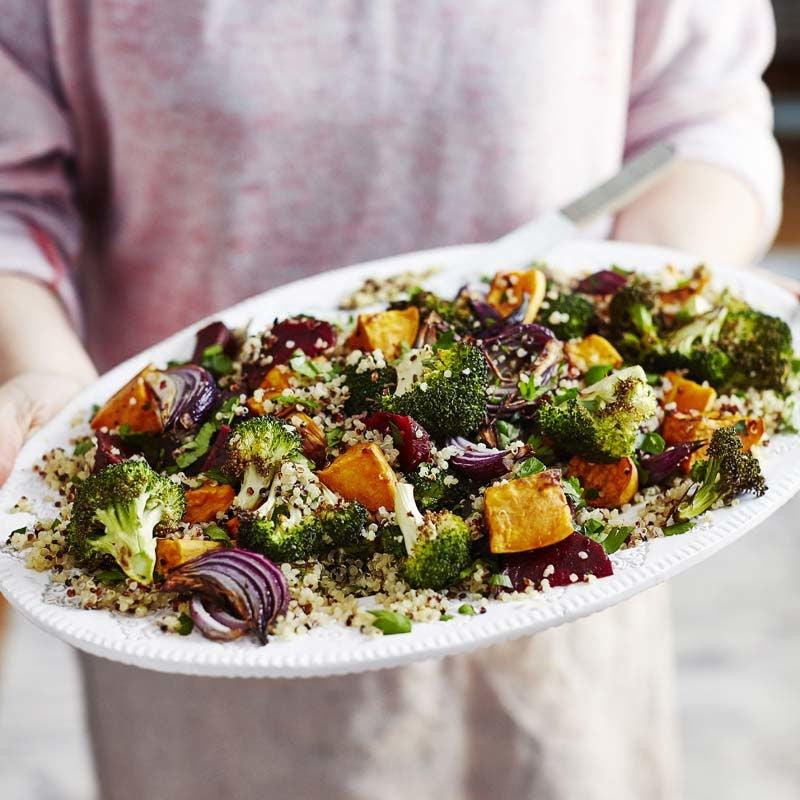 Foto av Sallad med quinoa och ugnsstekta grönsaker från WW ViktVäktarna