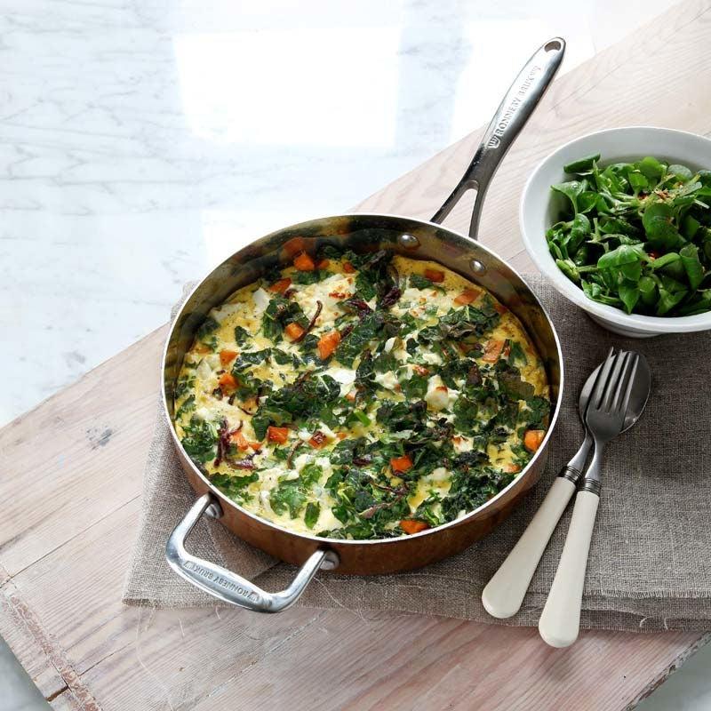 Foto av Frittata med sötpotatis, svartkål och salladsost från WW ViktVäktarna