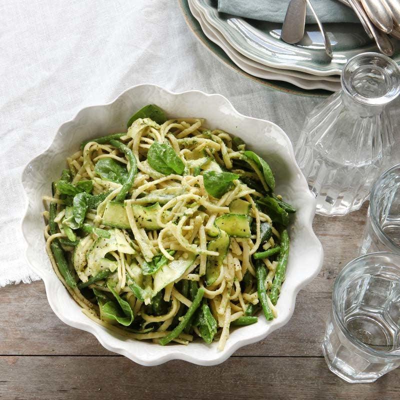 Foto av Pasta och zucchini med krämig bönpesto från WW ViktVäktarna