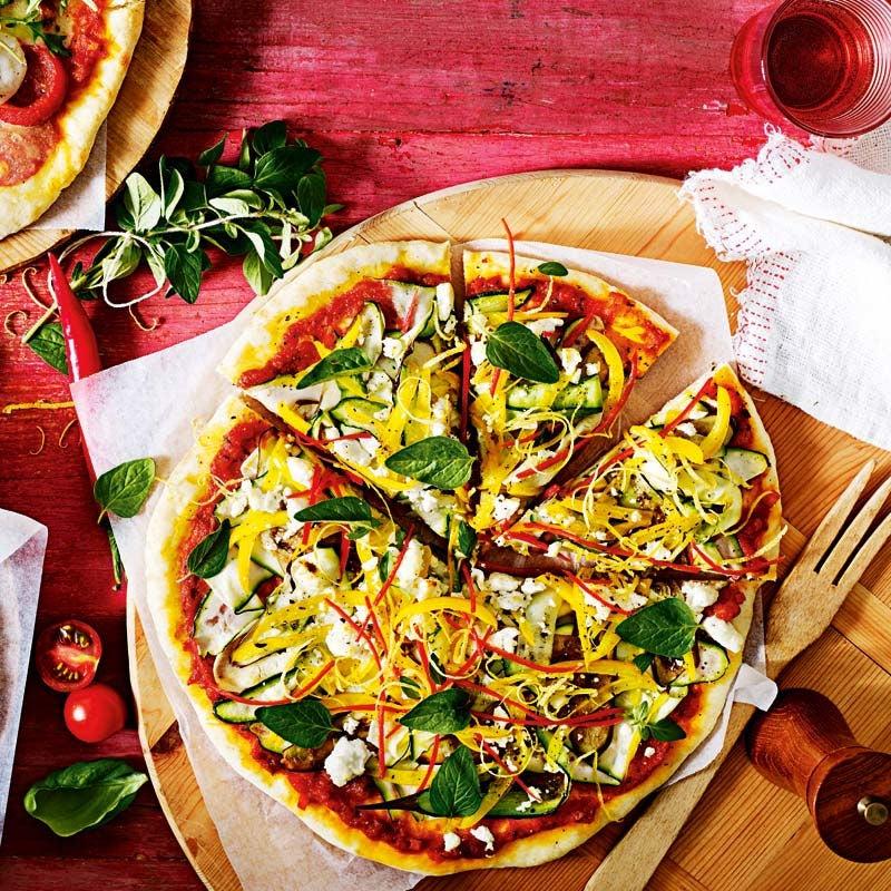 Foto av Snabb ricotta- och grönsakspizza från WW ViktVäktarna