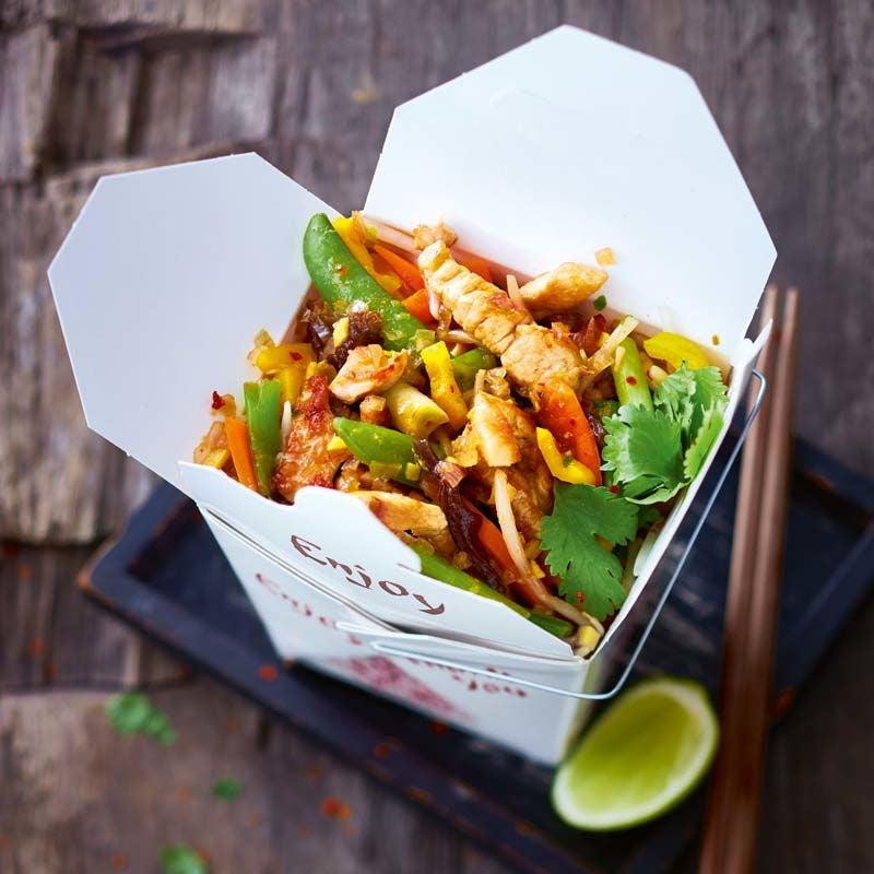Foto av Snabb wok med fläskkotlett och grönsaker från WW ViktVäktarna